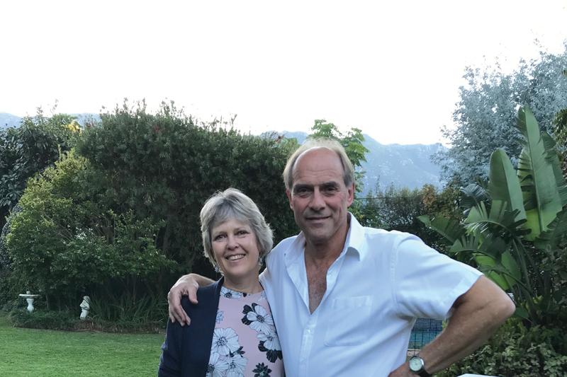 John and Sue McPetrie