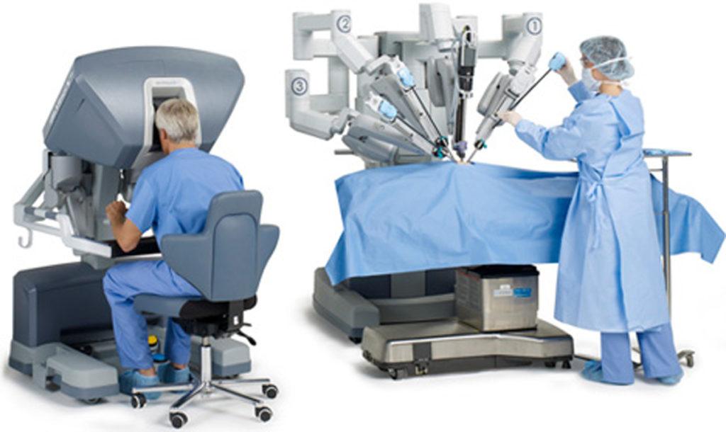 robotic assisted laparoscopic prostatectomy
